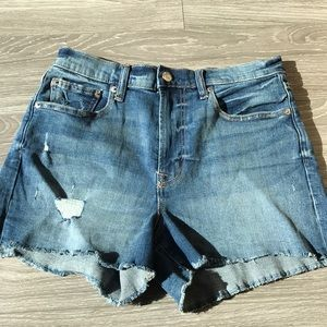 Gap Denim Distressed Shorts